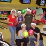 Team ten pin bowling